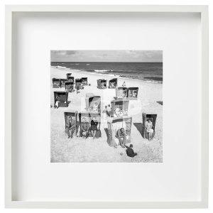 Zdjęcie z00001661: Plażowe kosze w Sopocie. Rok 1962. Fot. Zbigniew Kosycarz / KFP